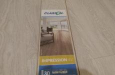 Ламинат Classen Impression 4v (Классен) — отзыв мастера