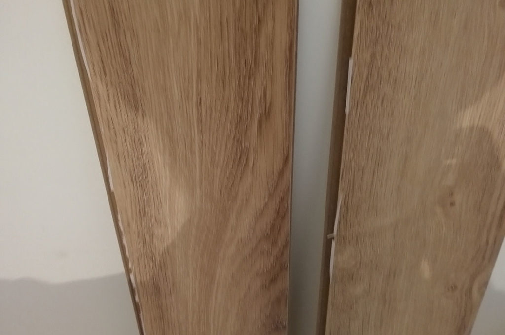 Floorwood - отслаивается второй слой пленки